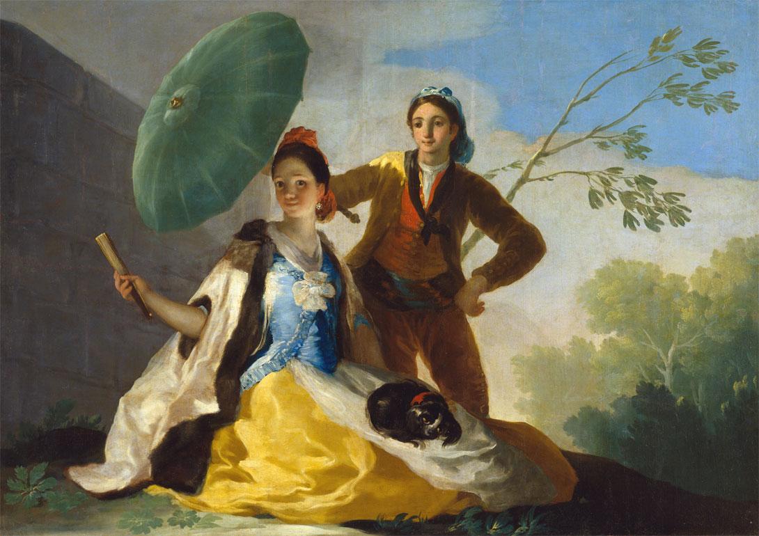 Francisco Goya, Il parasole (1777)