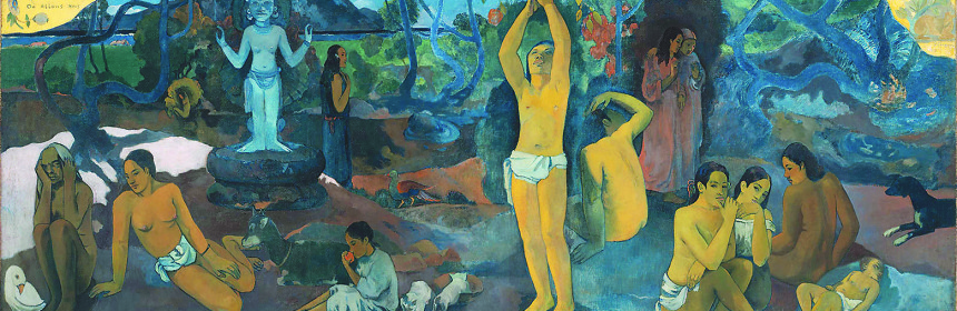 Paul Gauguin-Da dove veniamo? Chi siamo? Dove andiamo?(1897)