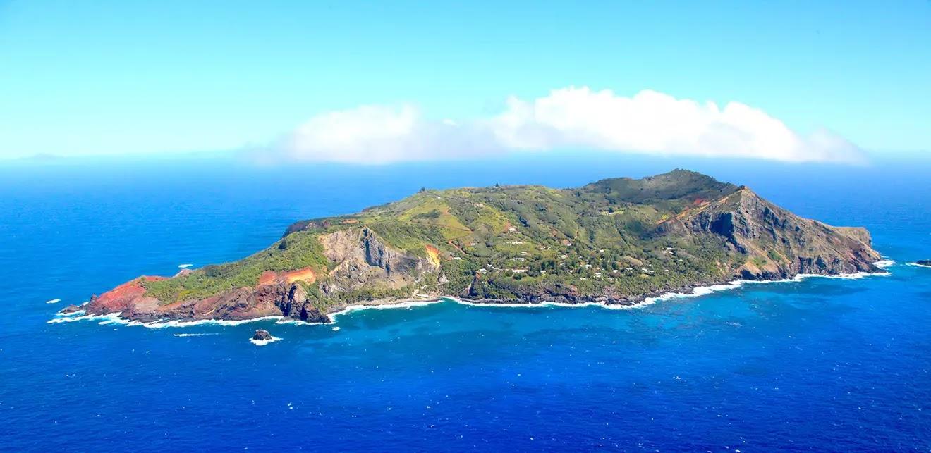 l'isola di Pitcairn